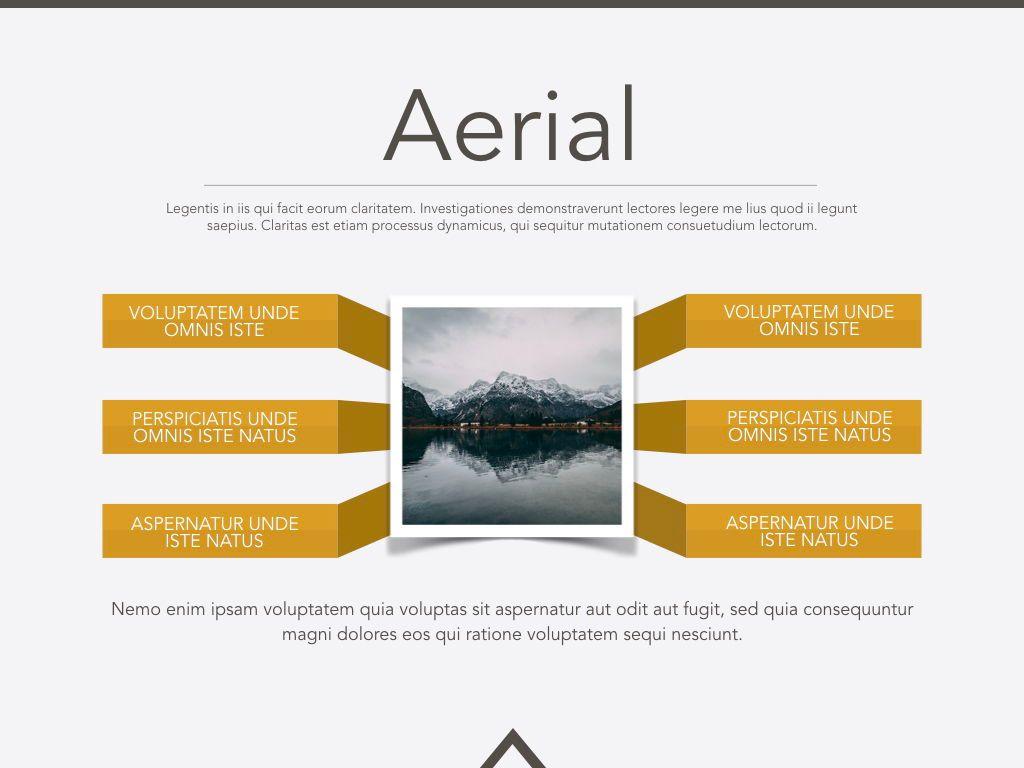 Aerial Keynote Presentation Template, Slide 3, 05302, Presentation Templates — PoweredTemplate.com