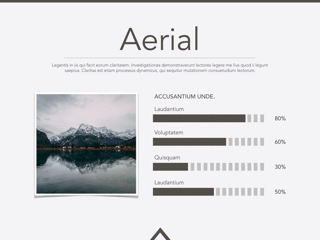 Aerial Keynote Presentation Template, Slide 4, 05302, Presentation Templates — PoweredTemplate.com