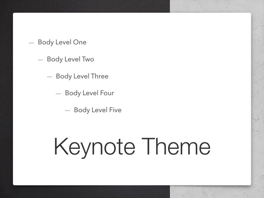 Bilateral Keynote Template, Slide 11, 05303, Presentation Templates — PoweredTemplate.com