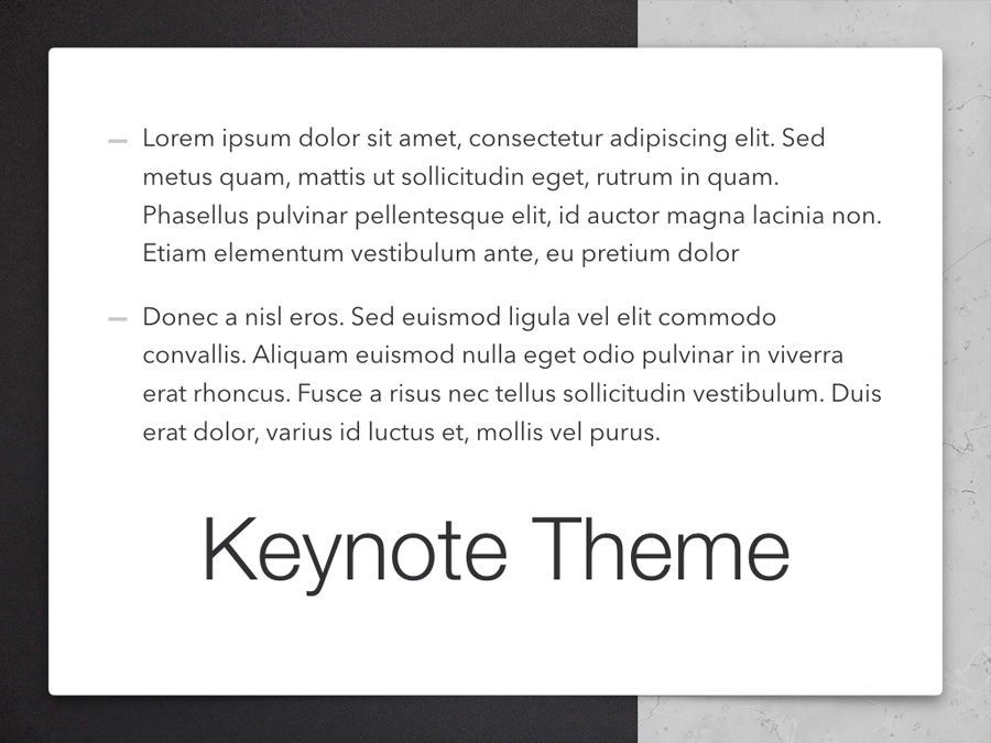 Bilateral Keynote Template, Slide 12, 05303, Presentation Templates — PoweredTemplate.com