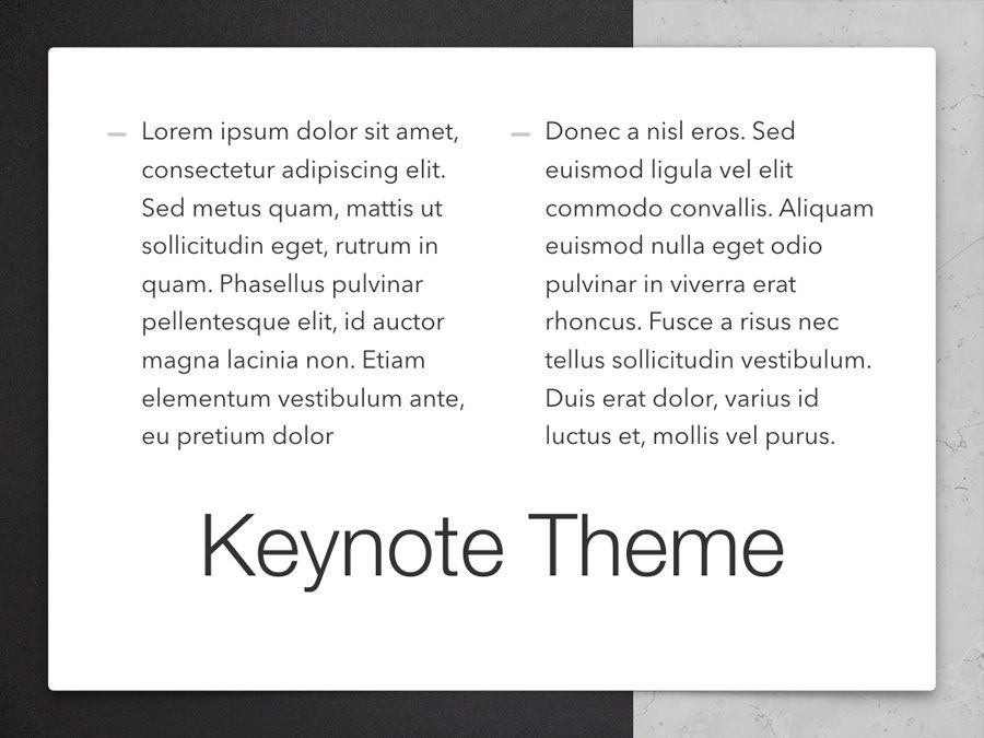 Bilateral Keynote Template, Slide 13, 05303, Presentation Templates — PoweredTemplate.com