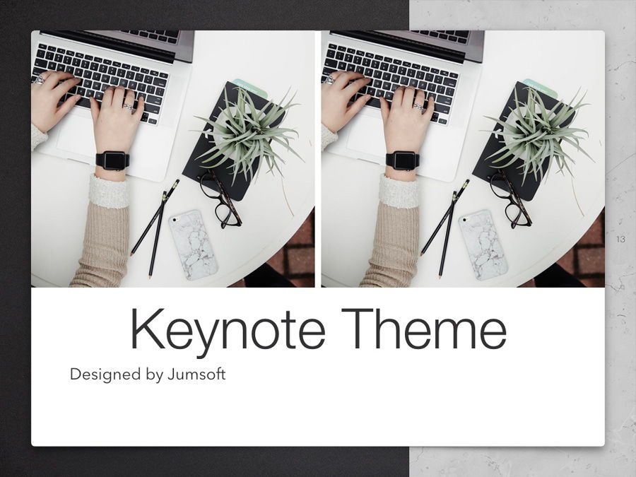 Bilateral Keynote Template, Slide 14, 05303, Presentation Templates — PoweredTemplate.com