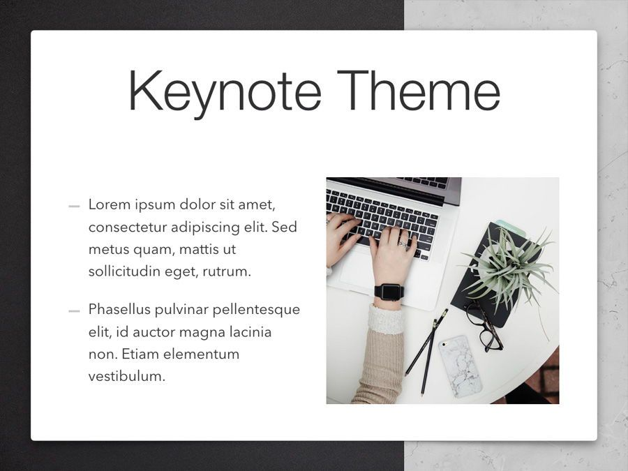 Bilateral Keynote Template, Slide 30, 05303, Presentation Templates — PoweredTemplate.com