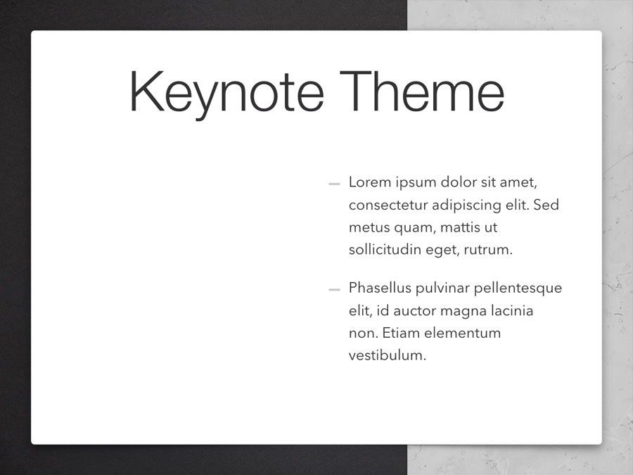Bilateral Keynote Template, Slide 33, 05303, Presentation Templates — PoweredTemplate.com