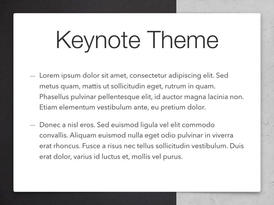 Bilateral Keynote Template, Slide 4, 05303, Presentation Templates — PoweredTemplate.com