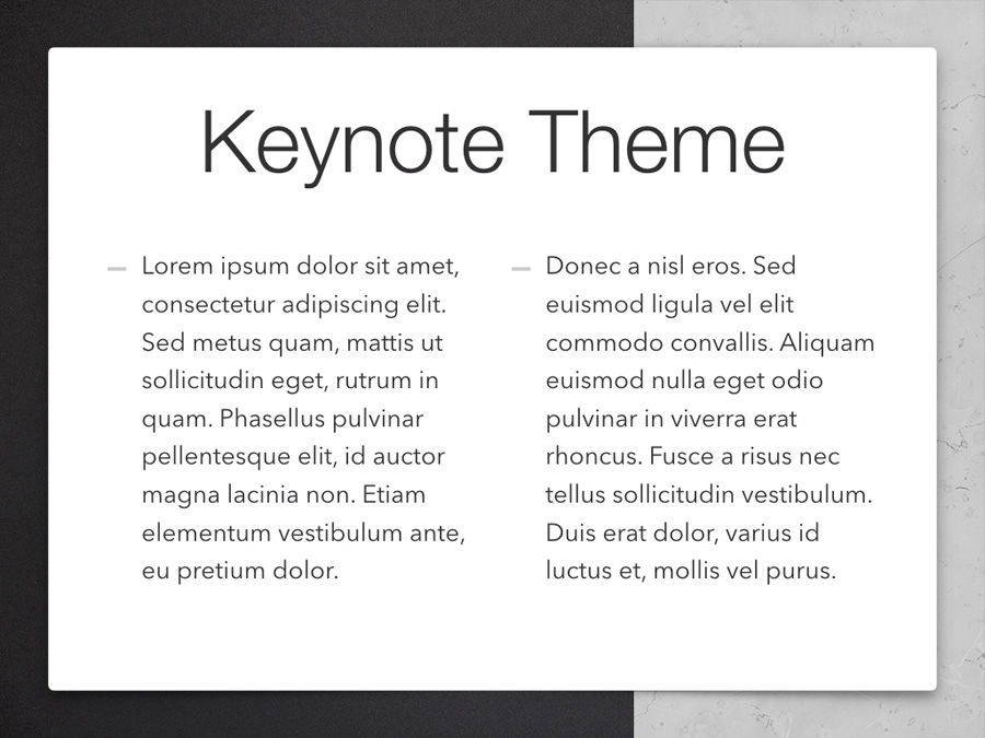 Bilateral Keynote Template, Slide 5, 05303, Presentation Templates — PoweredTemplate.com