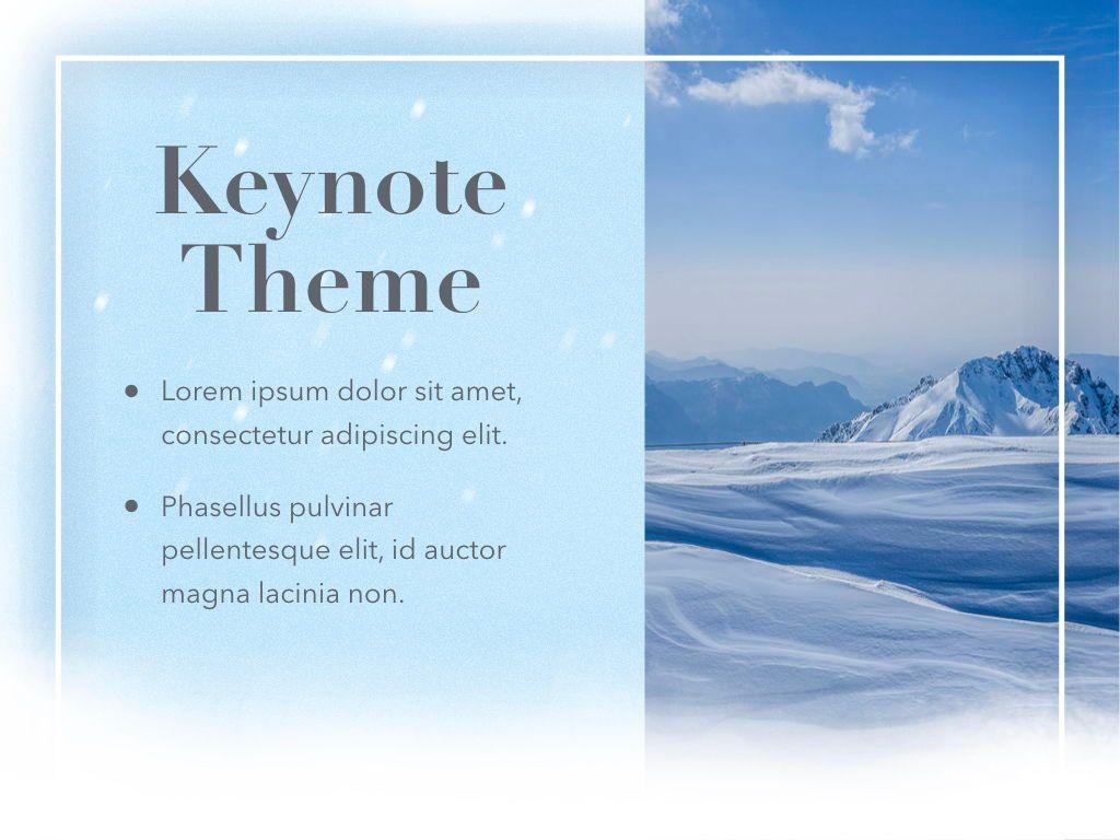 Blizzard Keynote Template, Slide 17, 05304, Presentation Templates — PoweredTemplate.com