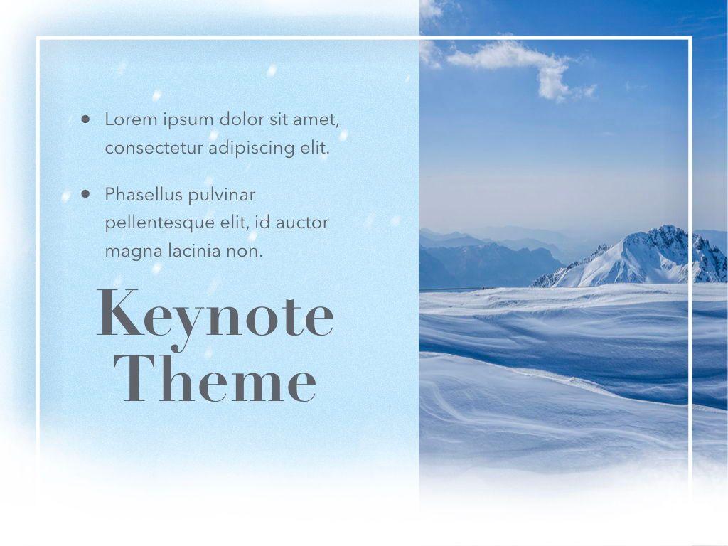 Blizzard Keynote Template, Slide 19, 05304, Presentation Templates — PoweredTemplate.com