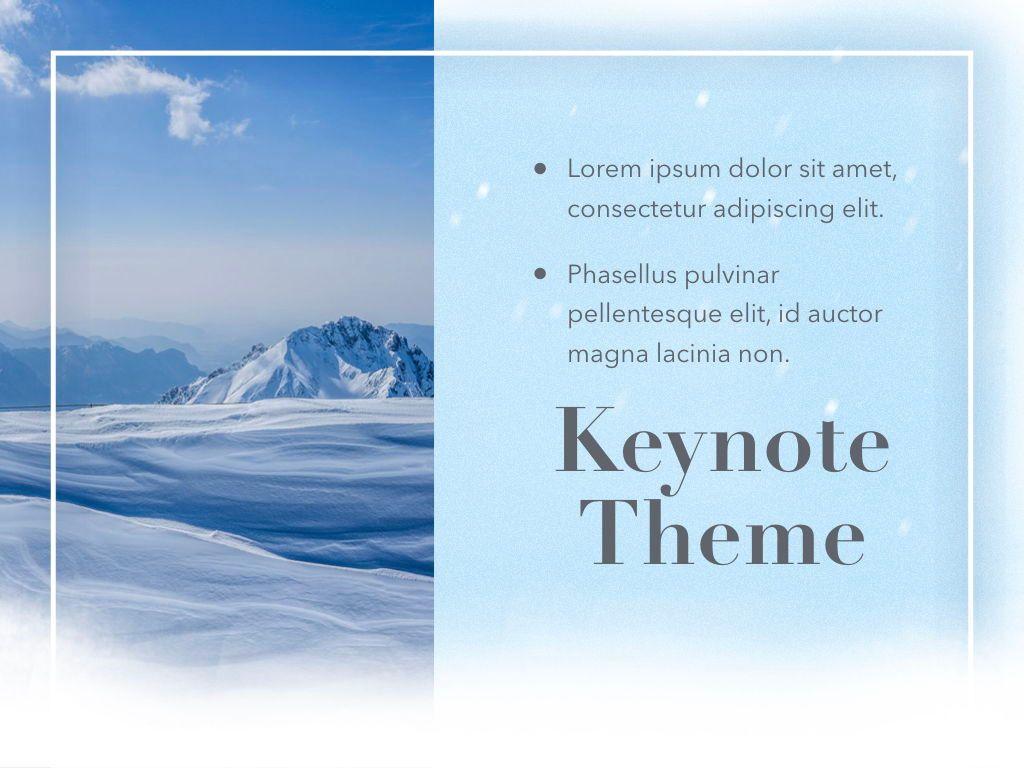 Blizzard Keynote Template, Slide 20, 05304, Presentation Templates — PoweredTemplate.com