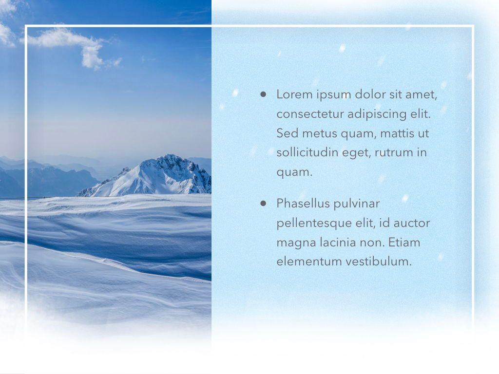 Blizzard Keynote Template, Slide 22, 05304, Presentation Templates — PoweredTemplate.com