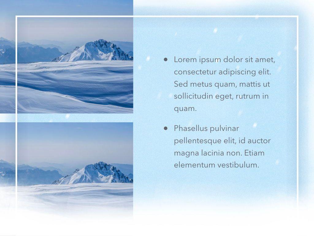 Blizzard Keynote Template, Slide 24, 05304, Presentation Templates — PoweredTemplate.com