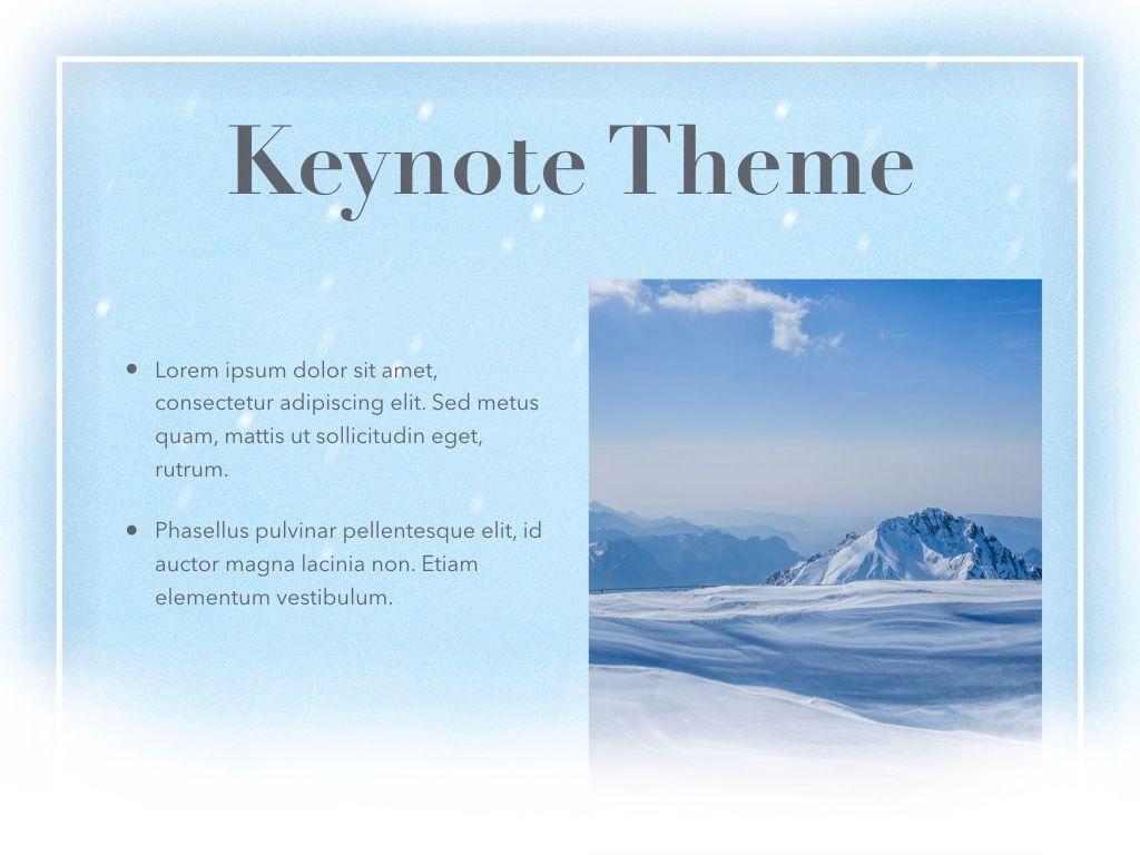 Blizzard Keynote Template, Slide 30, 05304, Presentation Templates — PoweredTemplate.com