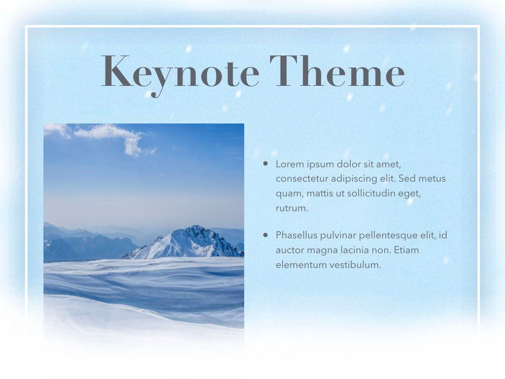 Blizzard Keynote Template, Slide 31, 05304, Presentation Templates — PoweredTemplate.com
