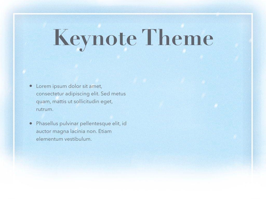 Blizzard Keynote Template, Slide 32, 05304, Presentation Templates — PoweredTemplate.com
