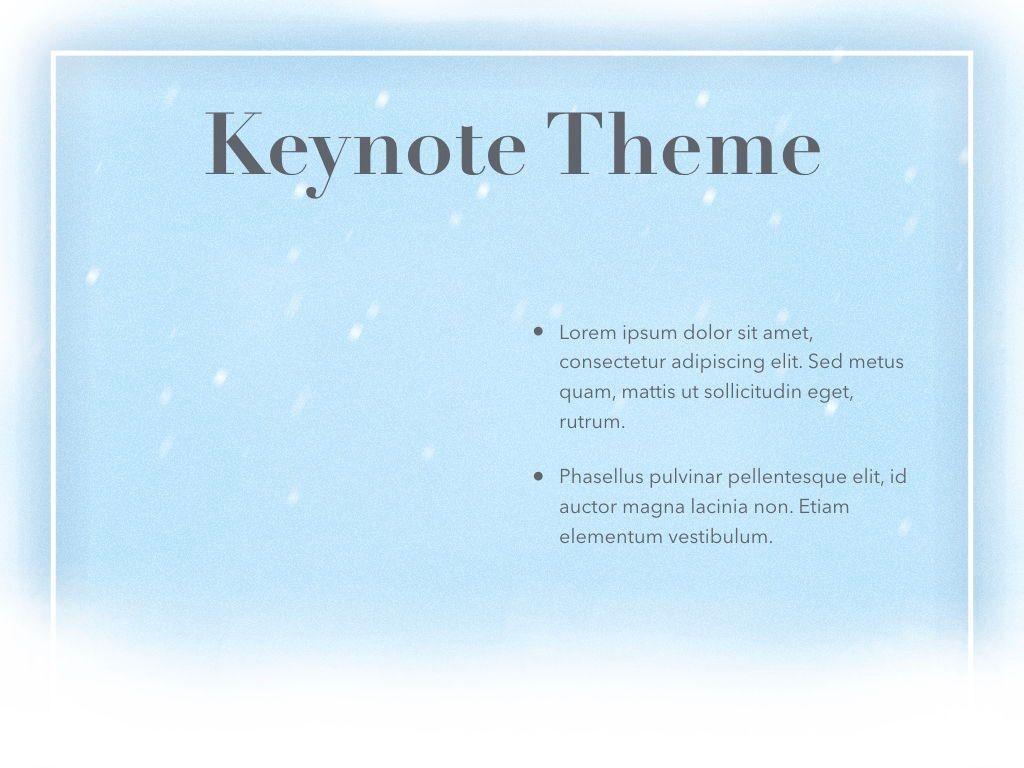 Blizzard Keynote Template, Slide 33, 05304, Presentation Templates — PoweredTemplate.com