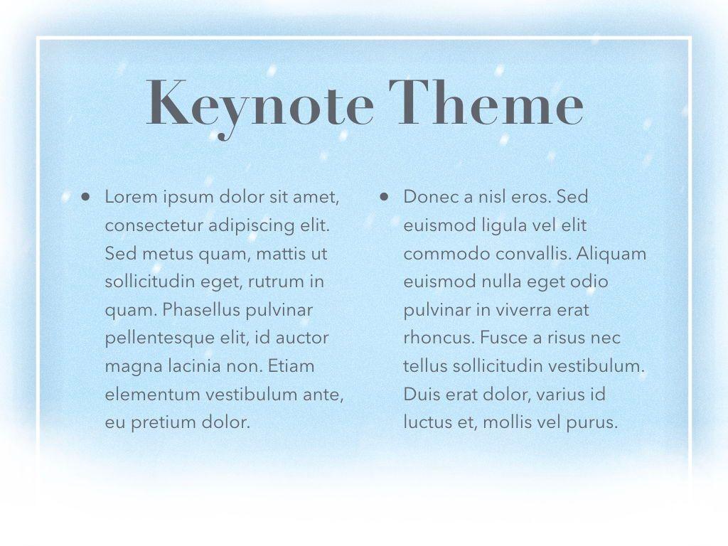 Blizzard Keynote Template, Slide 5, 05304, Presentation Templates — PoweredTemplate.com