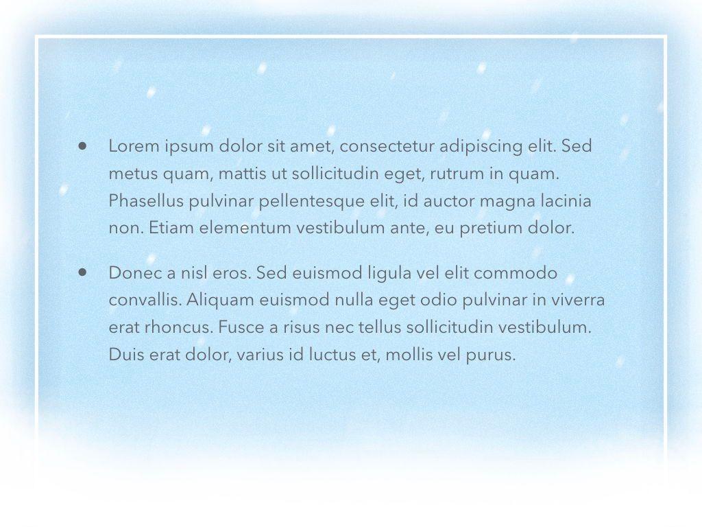 Blizzard Keynote Template, Slide 6, 05304, Presentation Templates — PoweredTemplate.com
