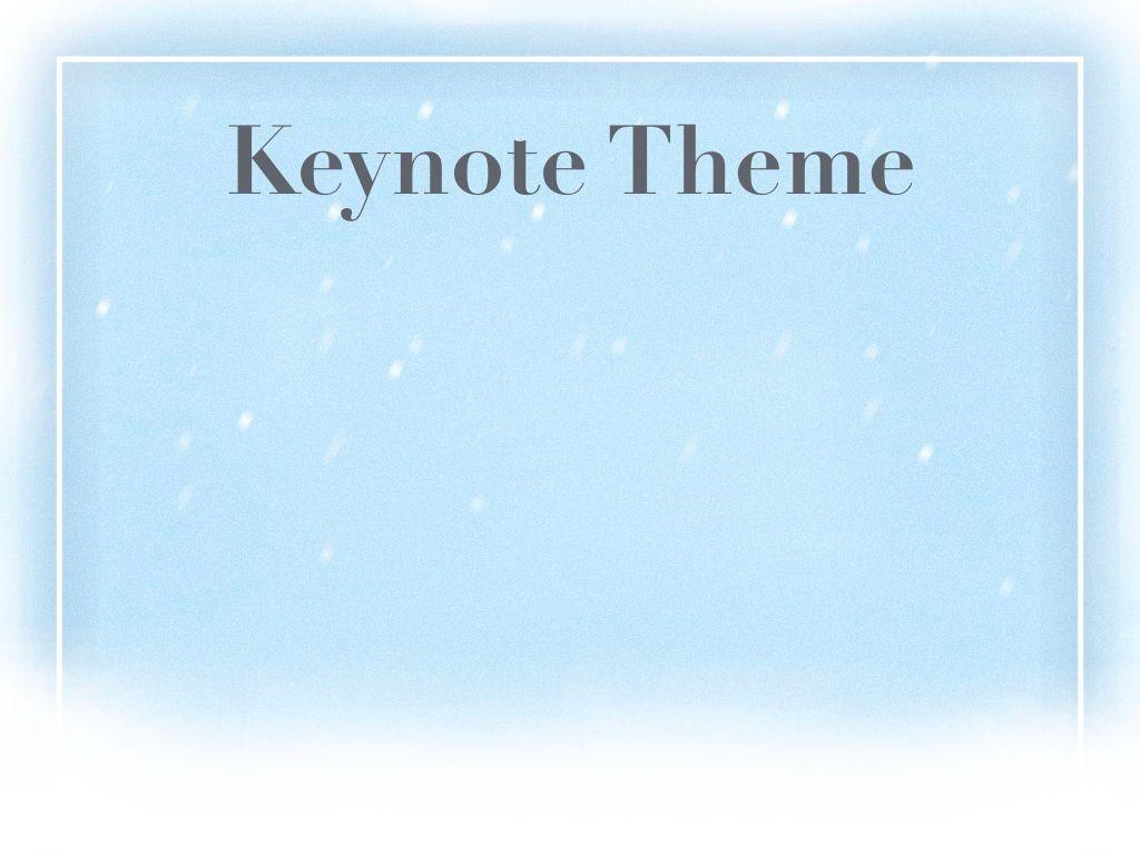 Blizzard Keynote Template, Slide 9, 05304, Presentation Templates — PoweredTemplate.com
