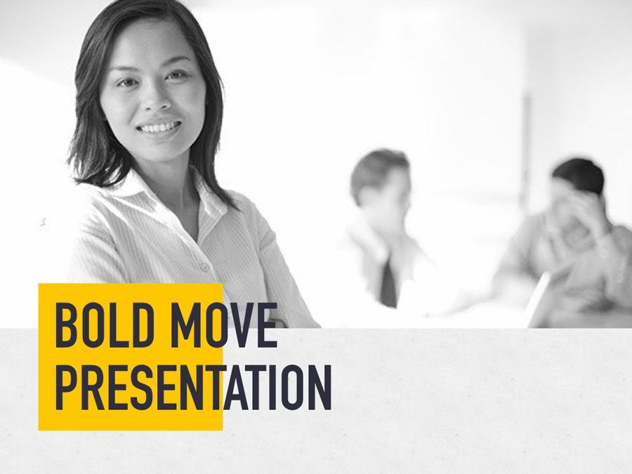 Bold Move PowerPoint Template, Slide 2, 05305, Presentation Templates — PoweredTemplate.com