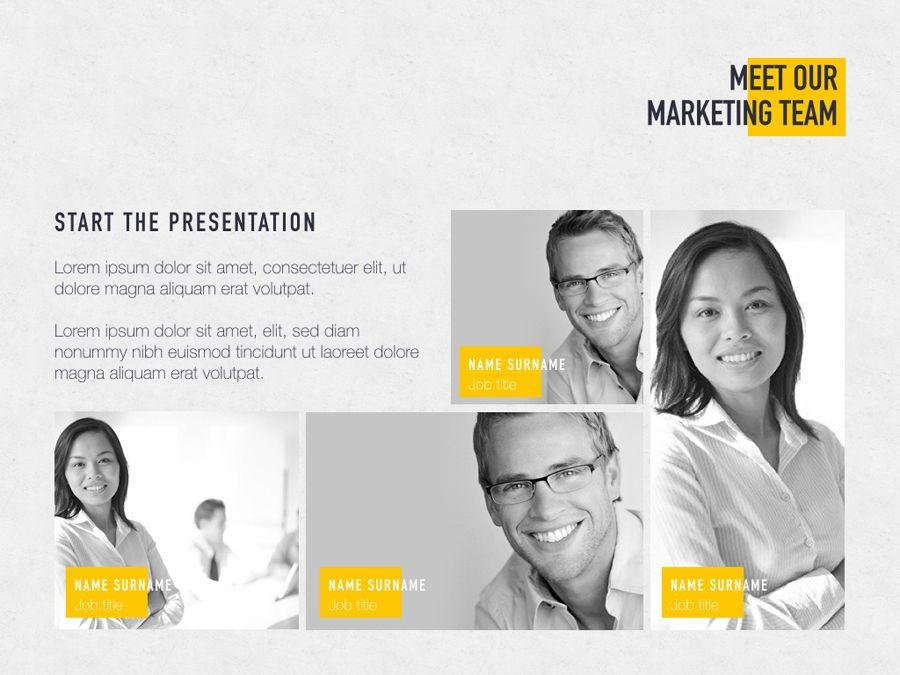 Bold Move PowerPoint Template, Slide 3, 05305, Presentation Templates — PoweredTemplate.com