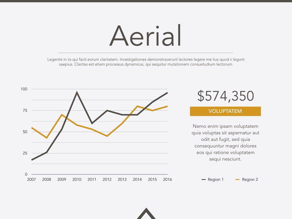 Aerial Powerpoint Presentation Template, Slide 13, 05306, Presentation Templates — PoweredTemplate.com