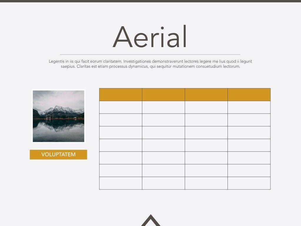 Aerial Powerpoint Presentation Template, Slide 14, 05306, Presentation Templates — PoweredTemplate.com