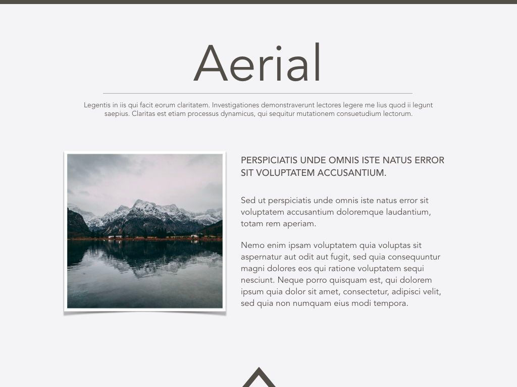 Aerial Powerpoint Presentation Template, Slide 16, 05306, Presentation Templates — PoweredTemplate.com