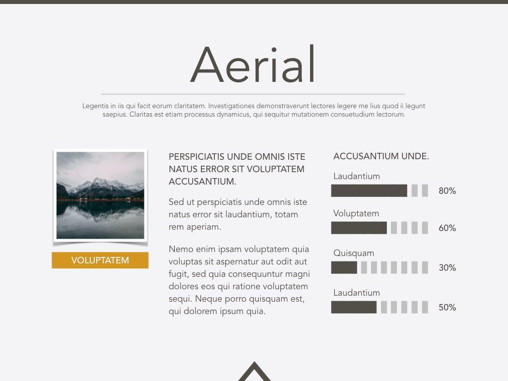 Aerial Powerpoint Presentation Template, Slide 19, 05306, Presentation Templates — PoweredTemplate.com