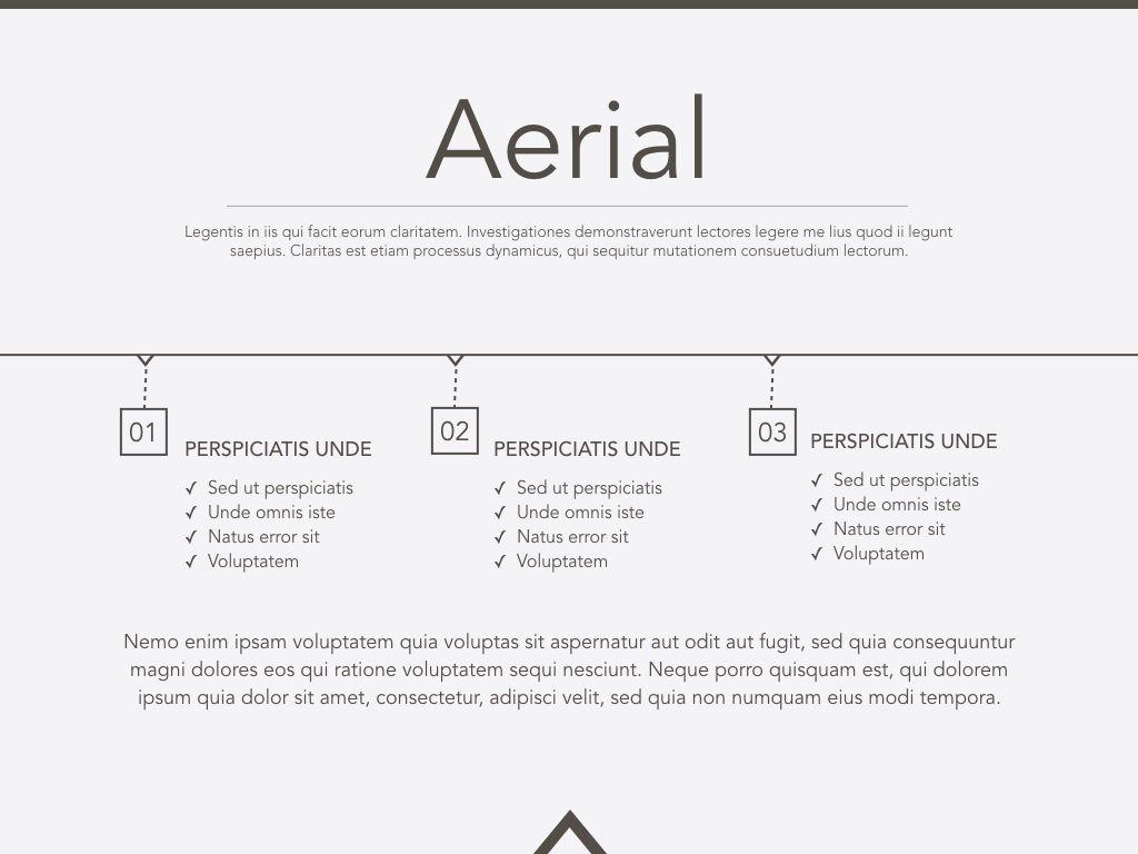 Aerial Powerpoint Presentation Template, Slide 2, 05306, Presentation Templates — PoweredTemplate.com