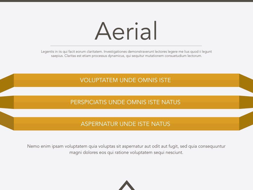 Aerial Powerpoint Presentation Template, Slide 8, 05306, Presentation Templates — PoweredTemplate.com
