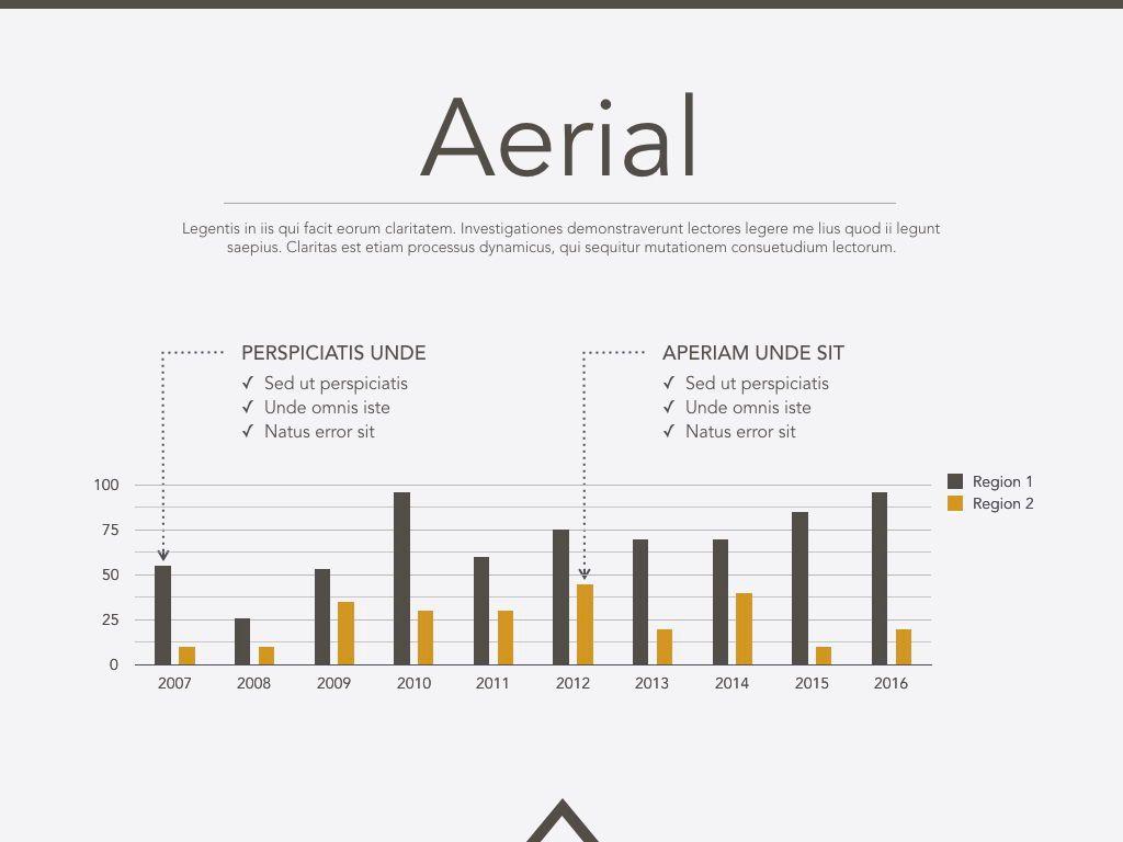 Aerial Powerpoint Presentation Template, Slide 9, 05306, Presentation Templates — PoweredTemplate.com