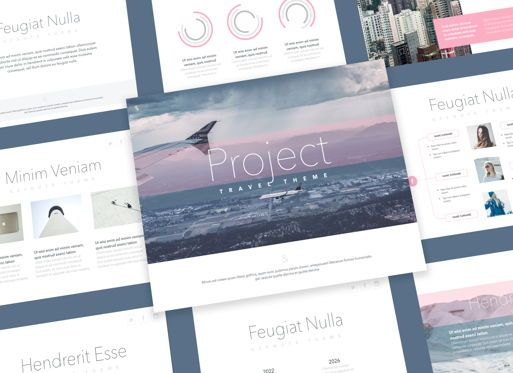 Presentation Templates: Ascent Powerpoint Presentation Template #05307