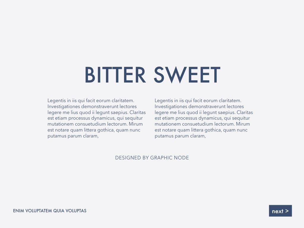 Bitter Sweet Powerpoint Presentation Template, Slide 5, 05308, Presentation Templates — PoweredTemplate.com
