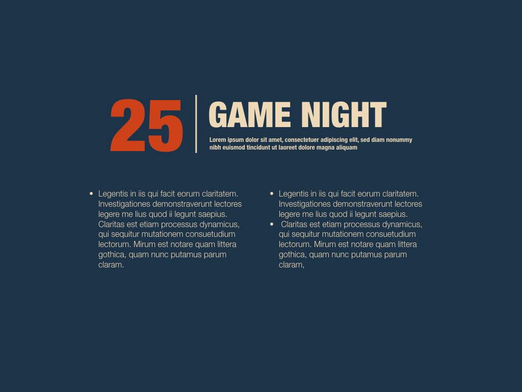 Game Night Powerpoint Presentation Template, Slide 10, 05311, Presentation Templates — PoweredTemplate.com
