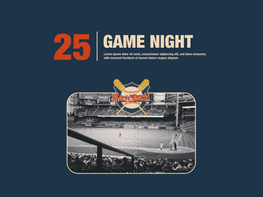 Game Night Powerpoint Presentation Template, Slide 12, 05311, Presentation Templates — PoweredTemplate.com
