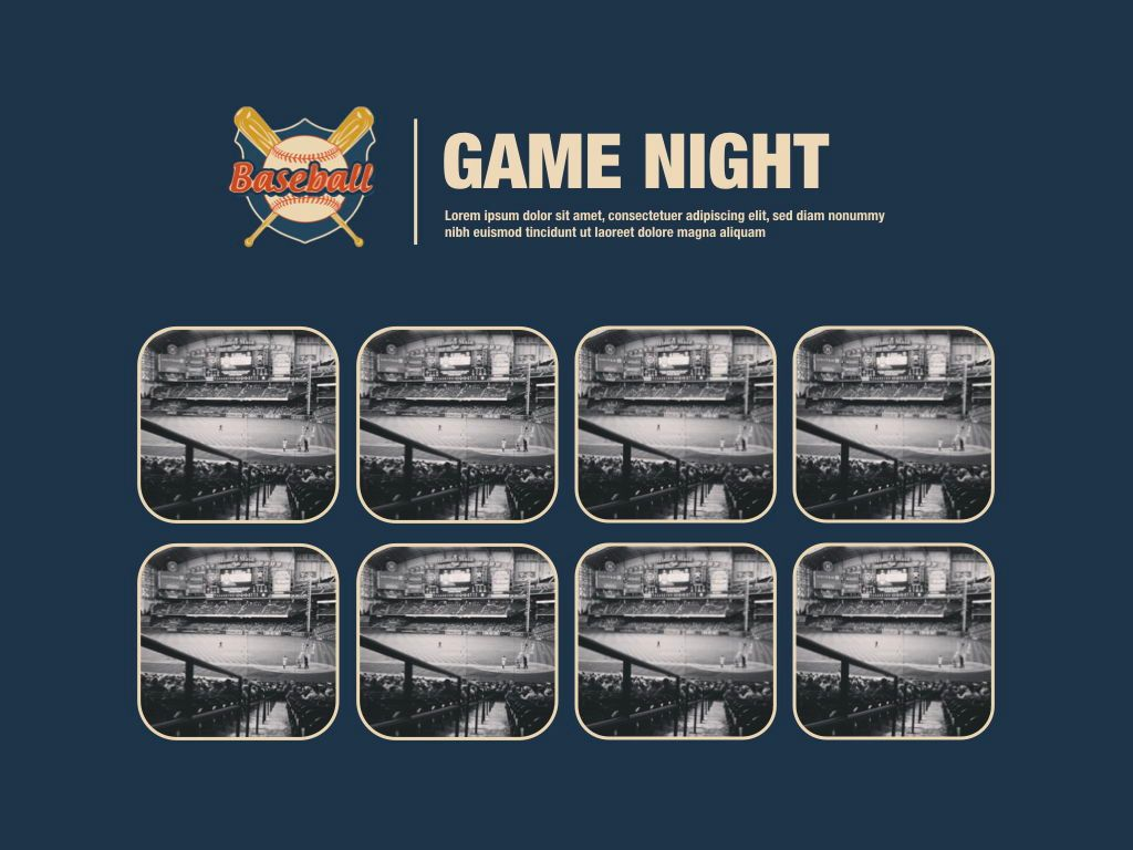 Game Night Powerpoint Presentation Template, Slide 3, 05311, Presentation Templates — PoweredTemplate.com