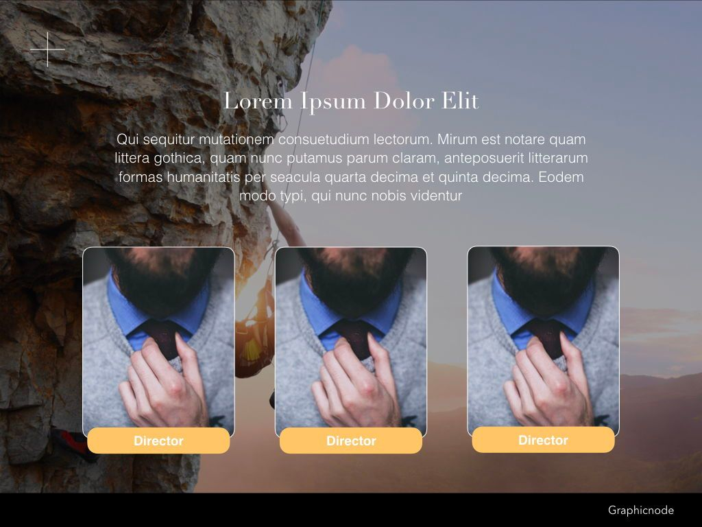 Inclined Powerpoint Presentation Template, Slide 20, 05313, Presentation Templates — PoweredTemplate.com