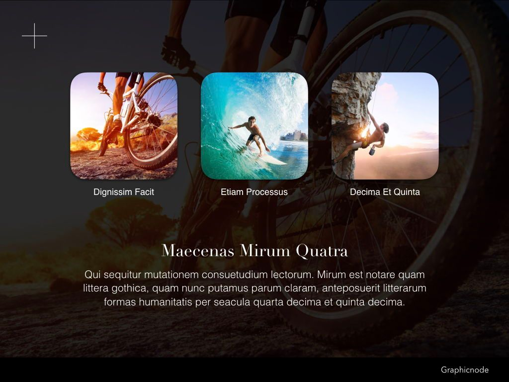 Inclined Powerpoint Presentation Template, Slide 3, 05313, Presentation Templates — PoweredTemplate.com