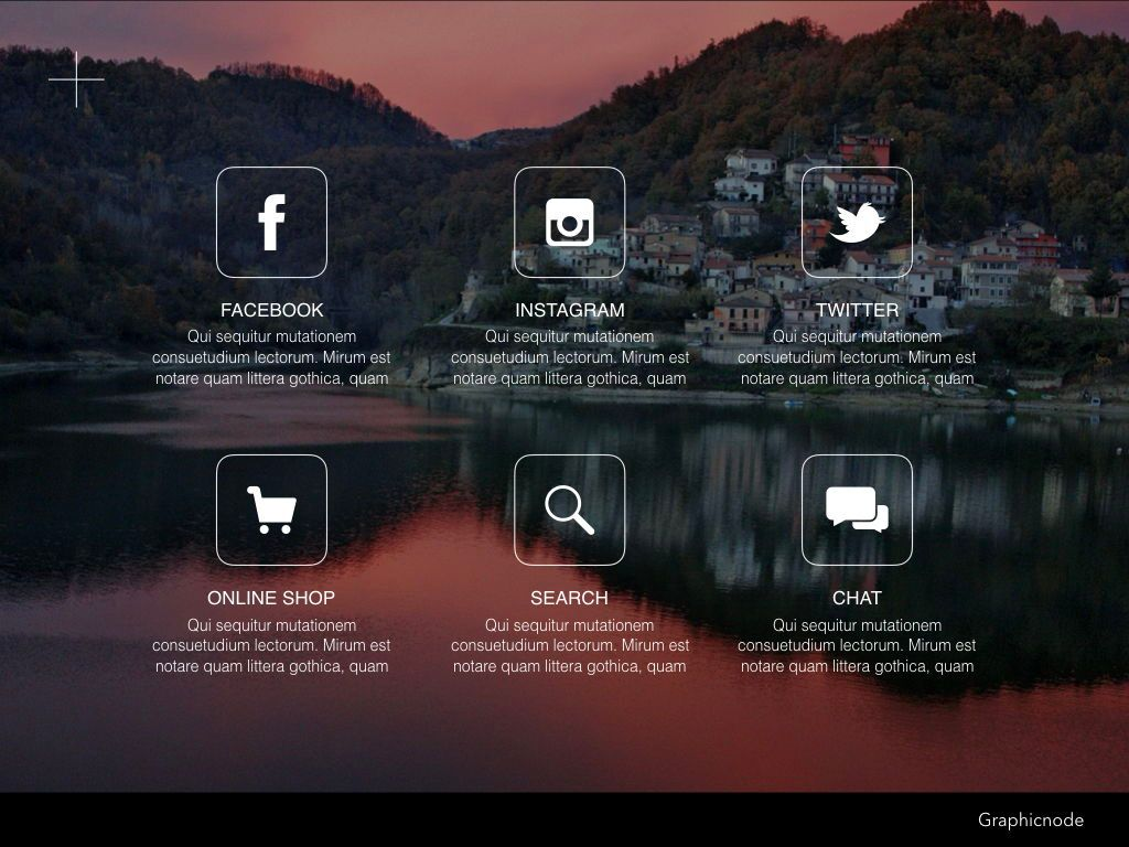 Inclined Powerpoint Presentation Template, Slide 4, 05313, Presentation Templates — PoweredTemplate.com