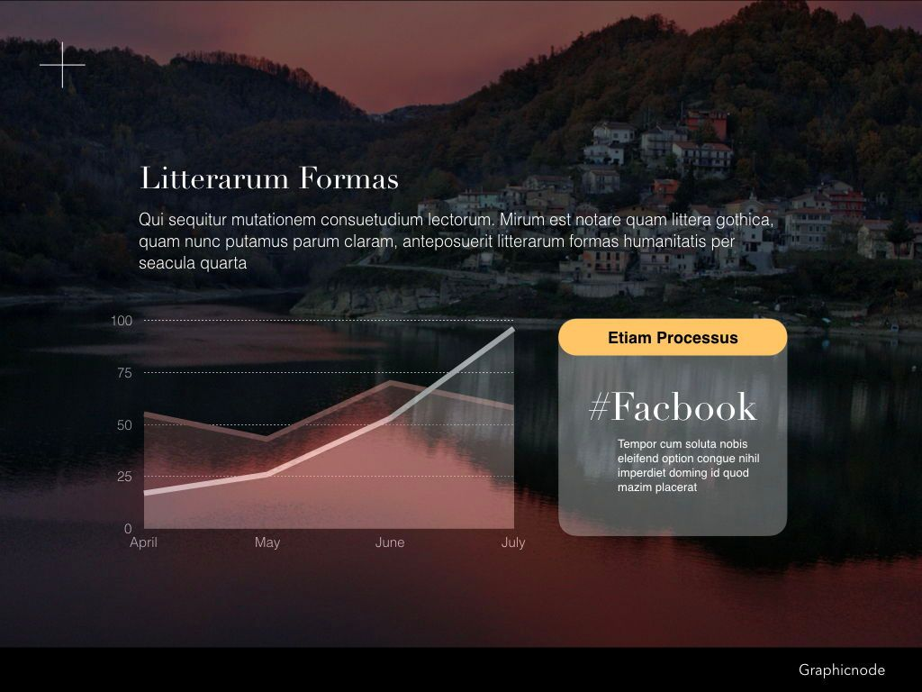 Inclined Powerpoint Presentation Template, Slide 7, 05313, Presentation Templates — PoweredTemplate.com