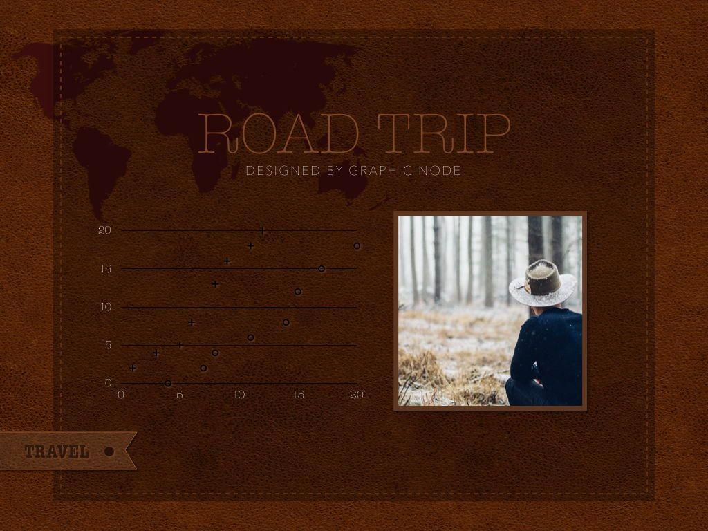 Road Trip Powerpoint Presentation Template, Slide 11, 05317, Presentation Templates — PoweredTemplate.com