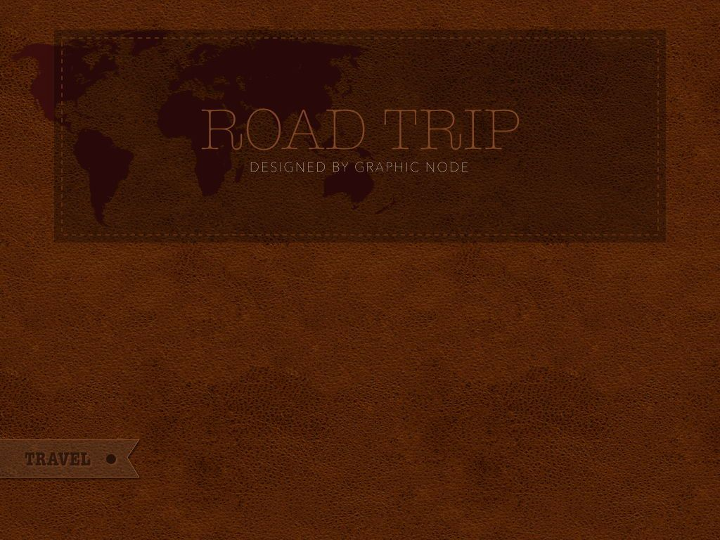 Road Trip Powerpoint Presentation Template, Slide 20, 05317, Presentation Templates — PoweredTemplate.com