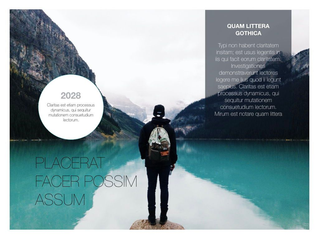 Minimal Grace Powerpoint Presentation Template, Slide 2, 05319, Presentation Templates — PoweredTemplate.com
