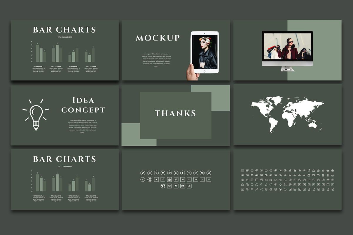 Arriety - PowerPoint Template, Slide 6, 05329, Presentation Templates — PoweredTemplate.com