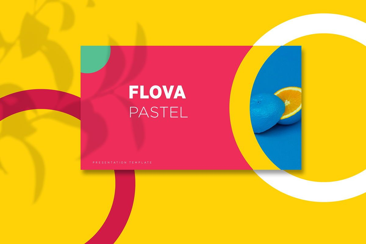 Flova - PowerPoint Template, 05330, Presentation Templates — PoweredTemplate.com