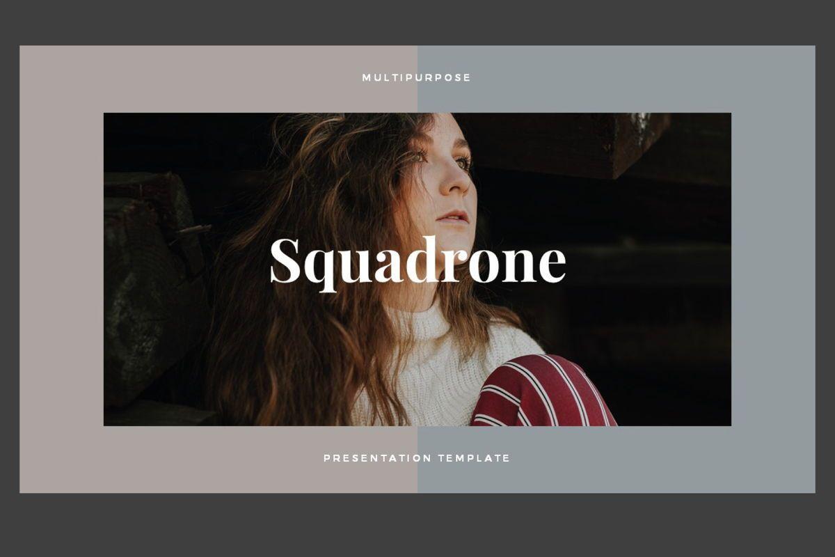 Squadrone - Google Slides, Slide 2, 05332, Presentation Templates — PoweredTemplate.com