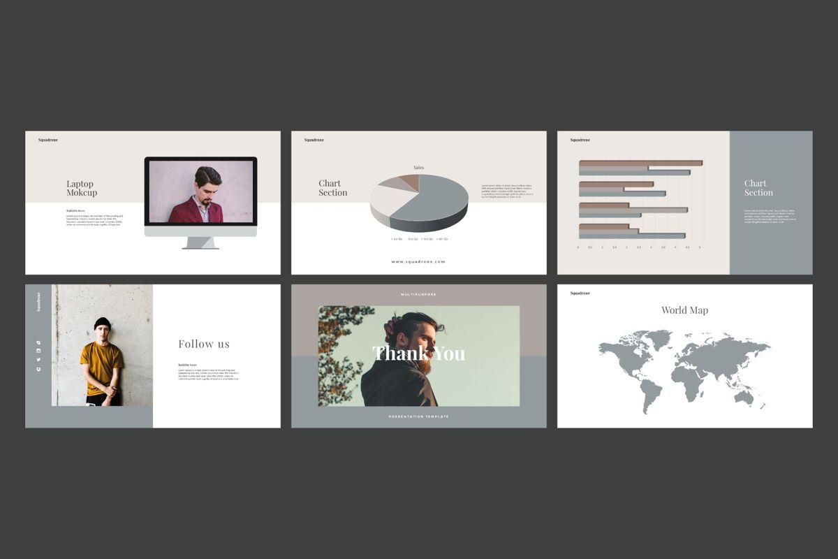 Squadrone - Google Slides, Slide 8, 05332, Presentation Templates — PoweredTemplate.com
