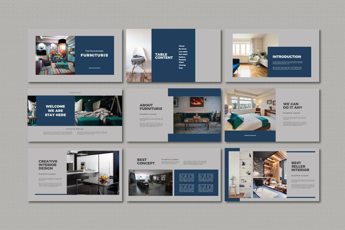 Furnituris - Keynote Template, Slide 2, 05335, Presentation Templates — PoweredTemplate.com