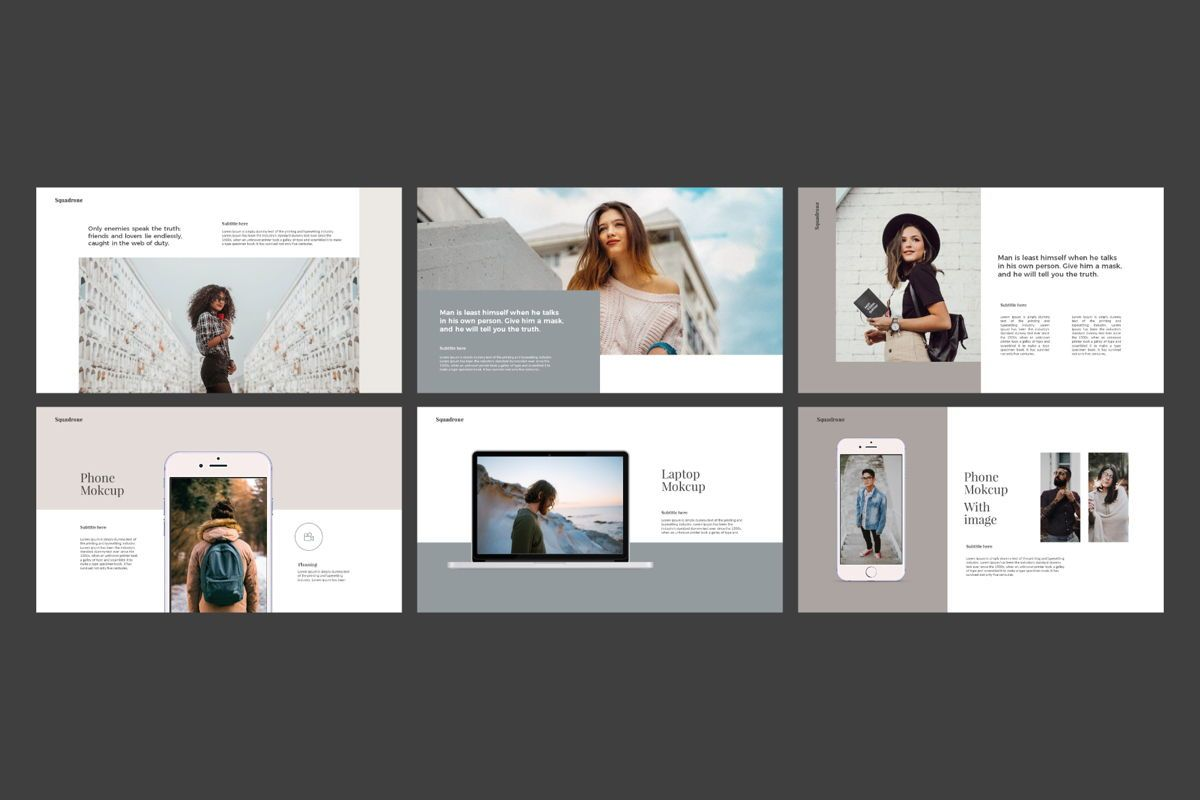 Squadrone - Keynote Template, Slide 7, 05336, Presentation Templates — PoweredTemplate.com
