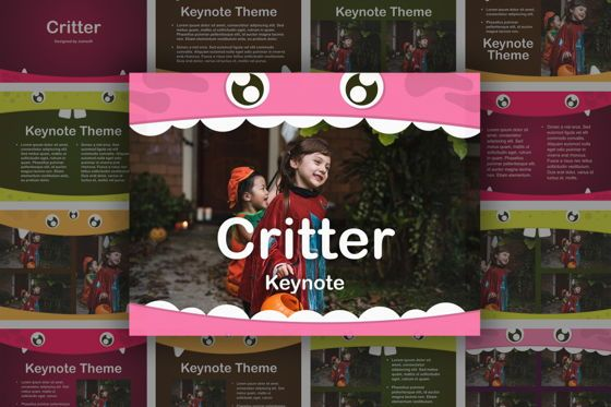 Presentation Templates: Critter Keynote Template #05348